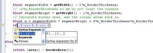 Syntax Expansion