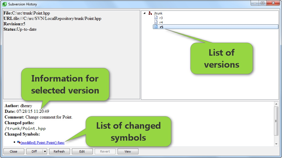 Powerful version control GUI for Git, Subversion, Mercurial